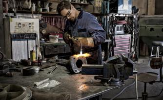 Welding services at Trico Machining, Medicine Hat