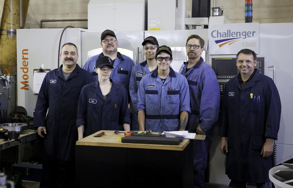 MIG Welding at Trico Machining Medicine Hat